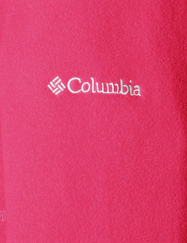 Columbia Youth Full-Zip Fleece Pink Ice Fast Trek II M