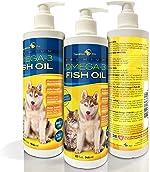 TerraMax Pro Premium Liquid Omega-3 Fish Oil for Dogs and Cats