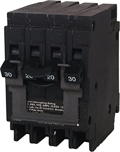 MURRAY MP220230CT2 20 One 30-Amp Double Pole Circuit Breaker, COLOR