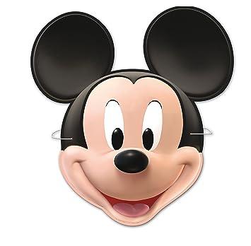 Mickey Mouse 014000389 - Pack de 6 caretas