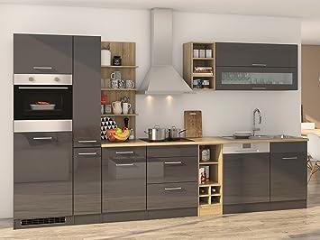 Küchenzeile Küche Kochnische Küchen-Set Küchenblock Einbauküche ...
