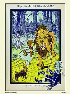 Maravilloso Mago de Oz con Forma de Libro (30 x 40 cm Art