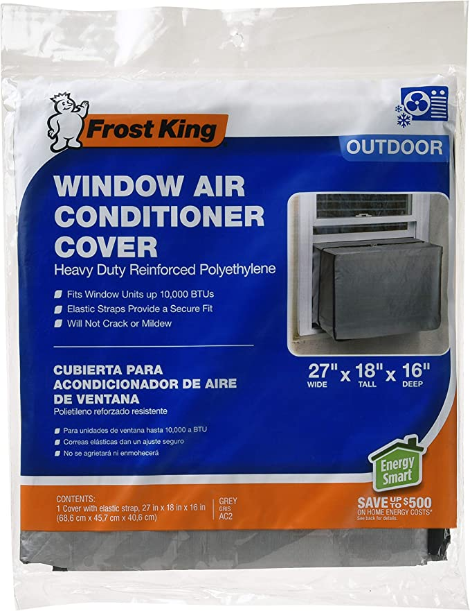 AC Unit Covers Outdoor Classic Accessories Water-Resistant Square AC Protection Cover FGHS Window Air Conditioner Cover for Outside Units