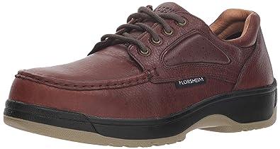 07ef4a9c84a593 FS2400 Florsheim Men s Eurocasual Safety Shoes - Dark Brown - 3.0 - D