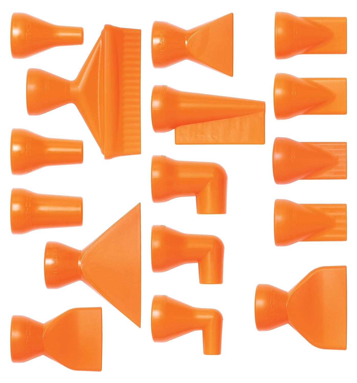 Loc-Line Coolant Hose Component, Acetal Copolymer, 16 Piece Nozzle Rama Set, 1/4' Hose ID 1/4 Hose ID Lockwood Products