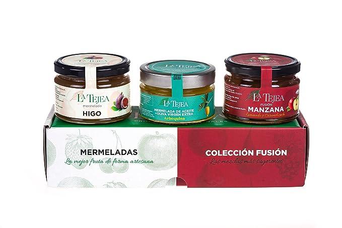 La Tejea, Mermelada (Higo, Aceite de Oliva, Manzana) - 3 piezas
