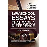 Law School Essays That Made a Difference, 6th Edition (Graduate School Admissions Guides) (English Edition)