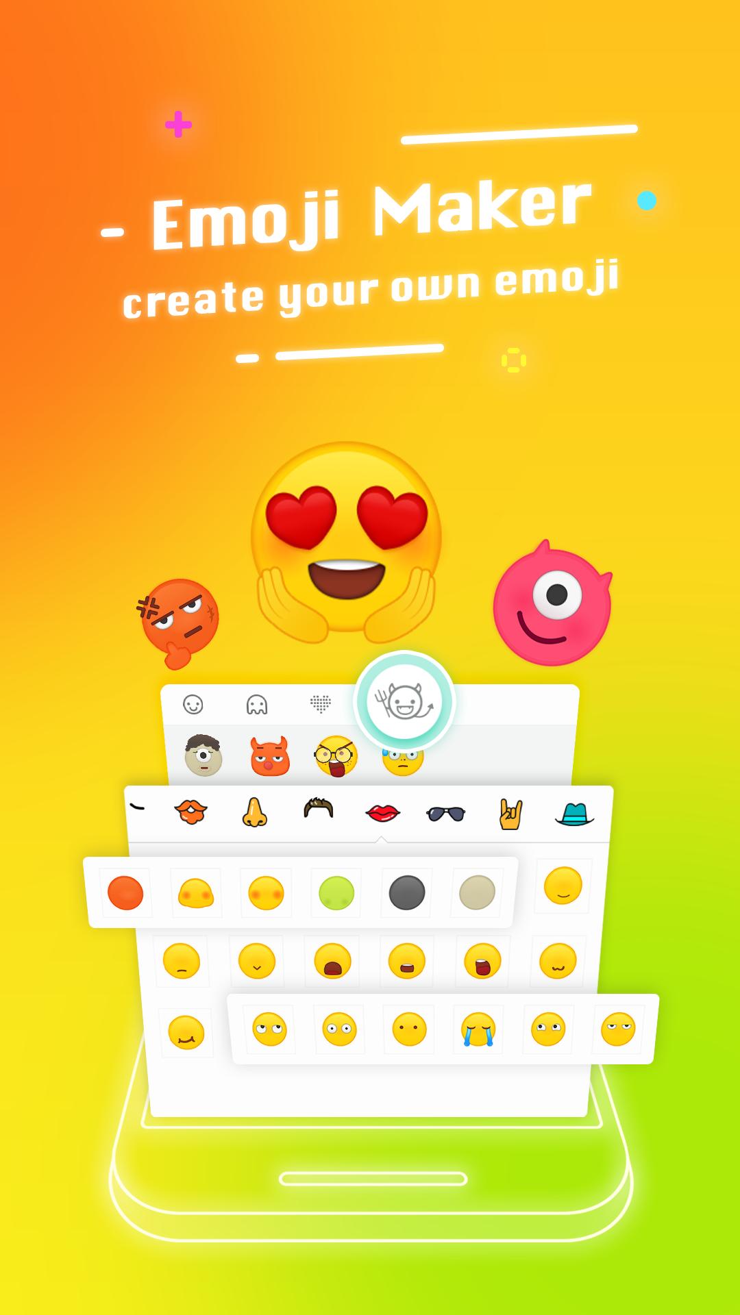 Typany Keyboard - Emoji, Theme
