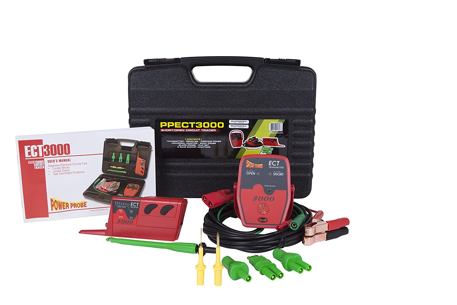 Power Probe Ppect3000 Electronic Circuit Tester Automotive Open And Short
