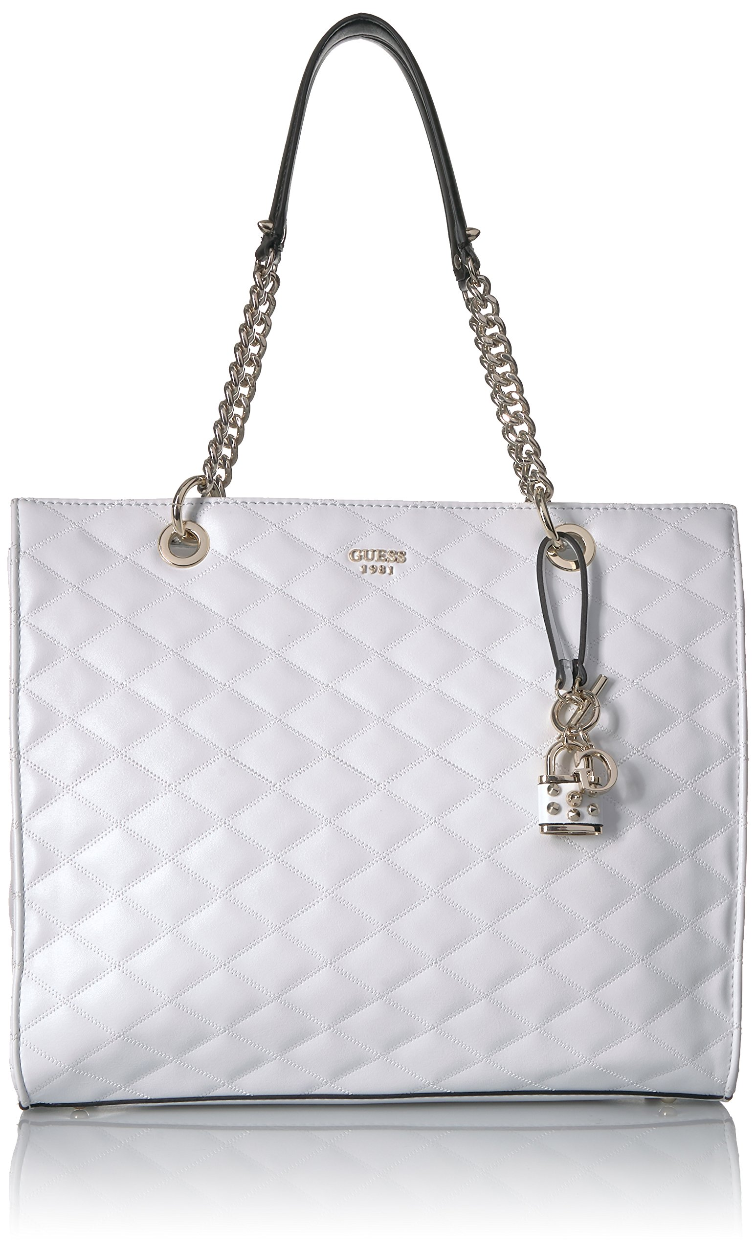 GUESS Penelope Shopper, White