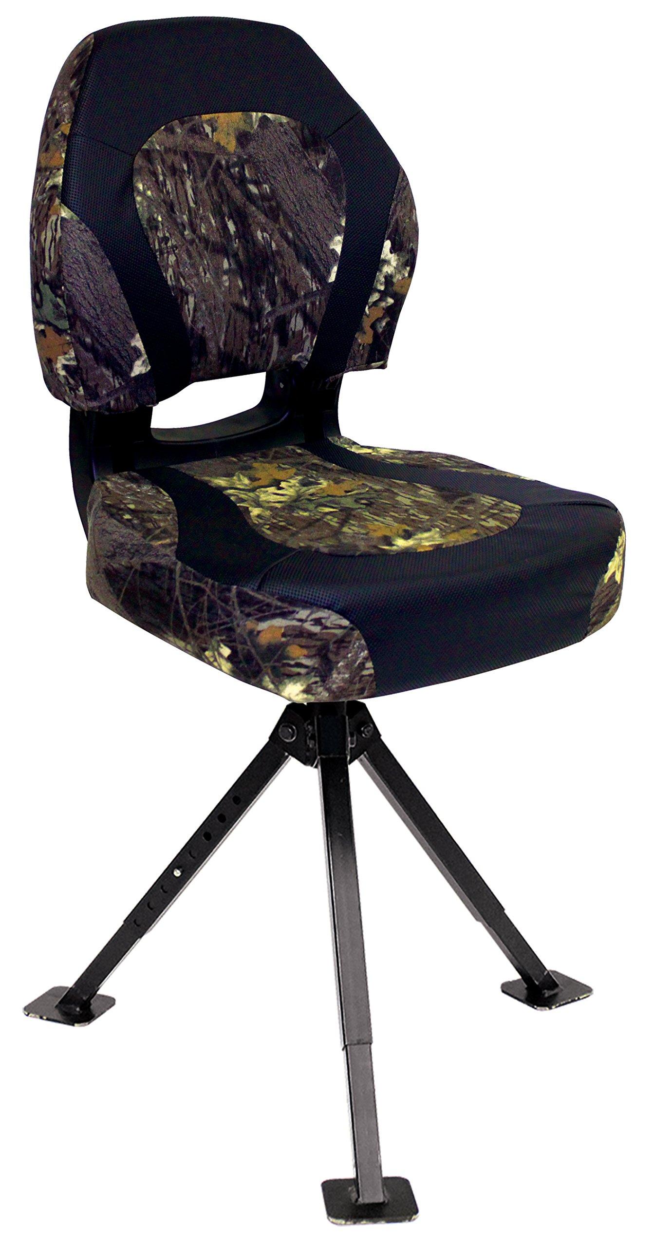 Wise Trailhawk Seat with Tripod 360 Stand, Mossy Oak Break-Up Camo