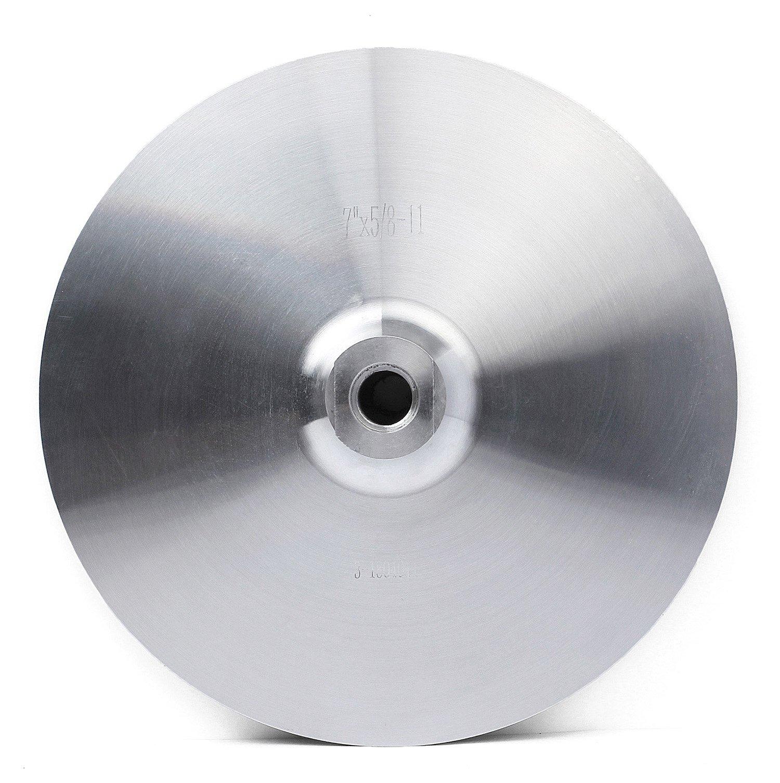 Aluminum Backer Pad 7 Inch Back Holder for Grinder Sander Polishing Pads Stone Arbor 5/8'' 11