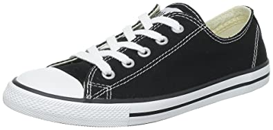 Converse CT All Star Dainty Ox Black Womens Trainers Size 4.5 UK