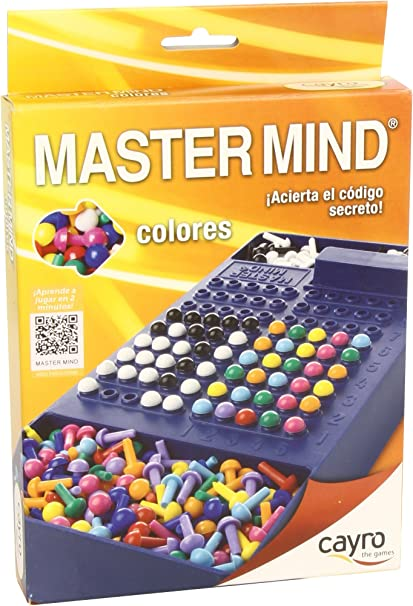 Cayro - Master Mind Colores, Juego de Viaje (+7 años) (125 ...