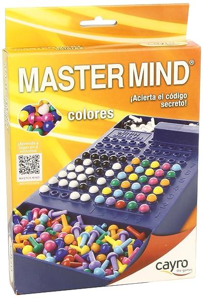 Cayro - Master Mind Colores, juego de viaje (+7 años) (125
