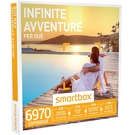 SMARTBOX - Cofanetto Regalo - INFINITE AVVENTURE PER DUE - 6970 ...