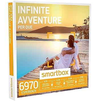 SMARTBOX - Cofanetto Regalo - INFINITE AVVENTURE PER DUE ...