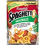 Campbell's SpaghettiOs Canned Pasta, with Meatballs, 15.6 oz