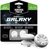 KontrolFreek FPS Freek Galaxy White for Xbox One and Xbox Series X Controller | Performance Thumbsticks | 1 High-Rise, 1 Mid-