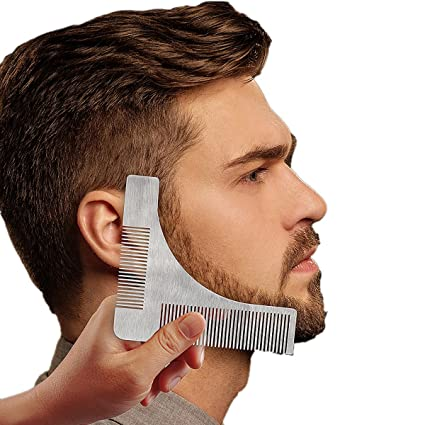 Yoofor Beard Template Shaping Tool Comb For Goatee Neckline