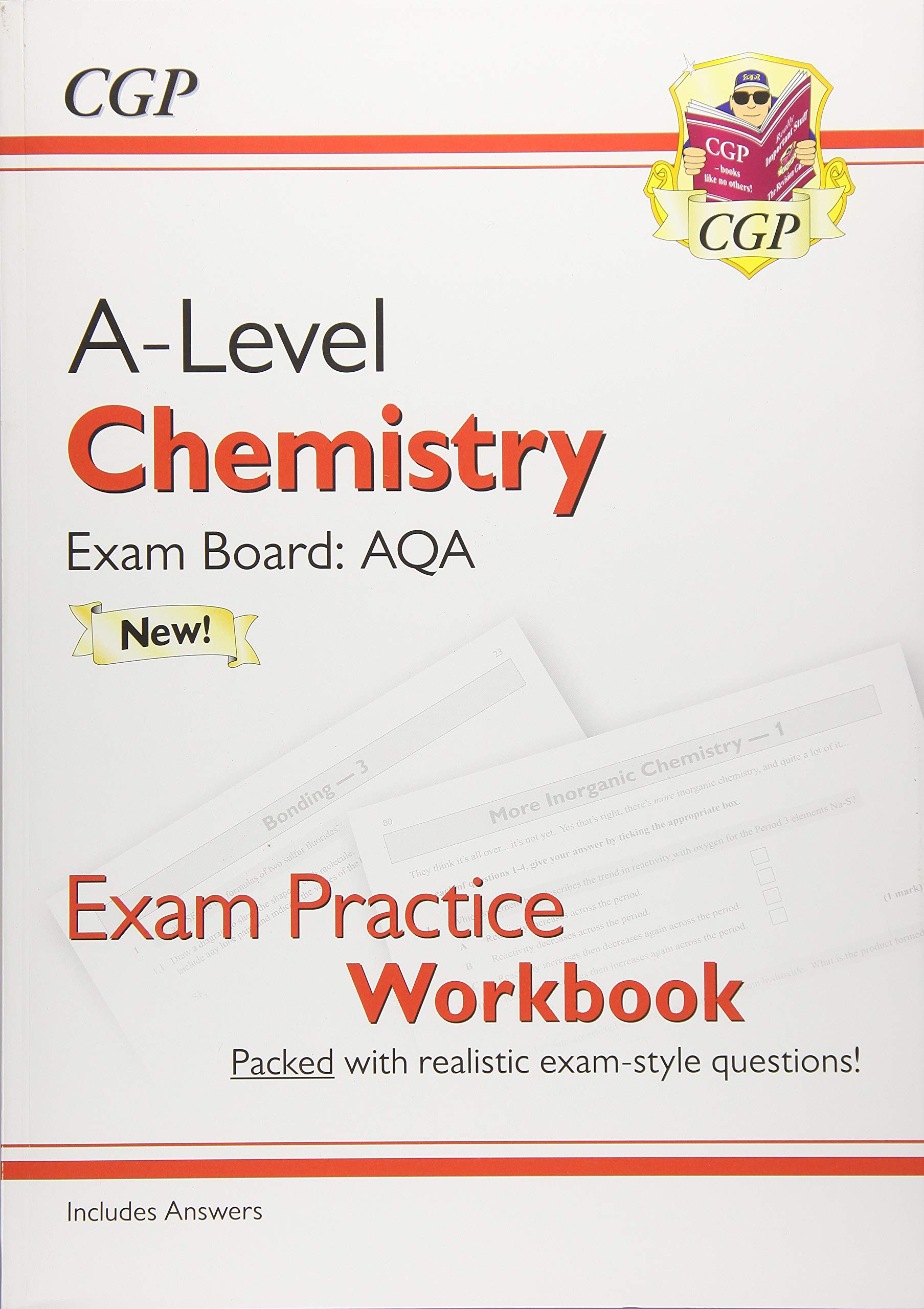 New A-Level Chemistry: AQA Year 1 & 2 Exam Practice Workbook