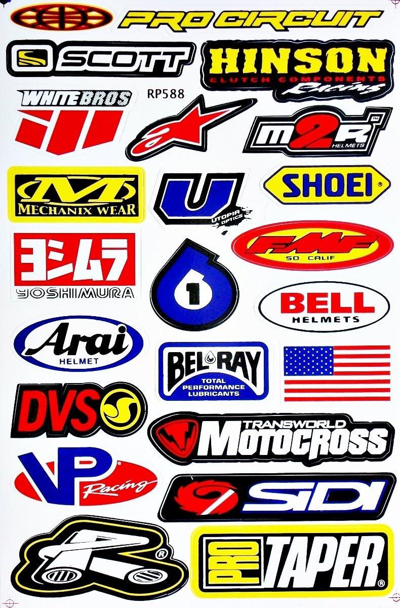 CYCRA Sticker 5inch Vinyl Logo Decal Motocross MX Dirt Bike Adhesive