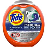 Tide Hygienic Clean Heavy 10x Duty Power PODS Liquid Laundry Detergent, Original, 36 count (Packaging may vary)
