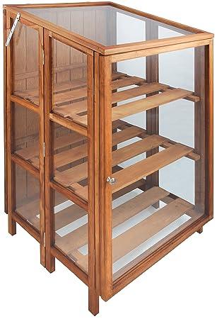 Esschert Design Holz/Glas Gewächshaus – Braun – parent: Amazon.de ...