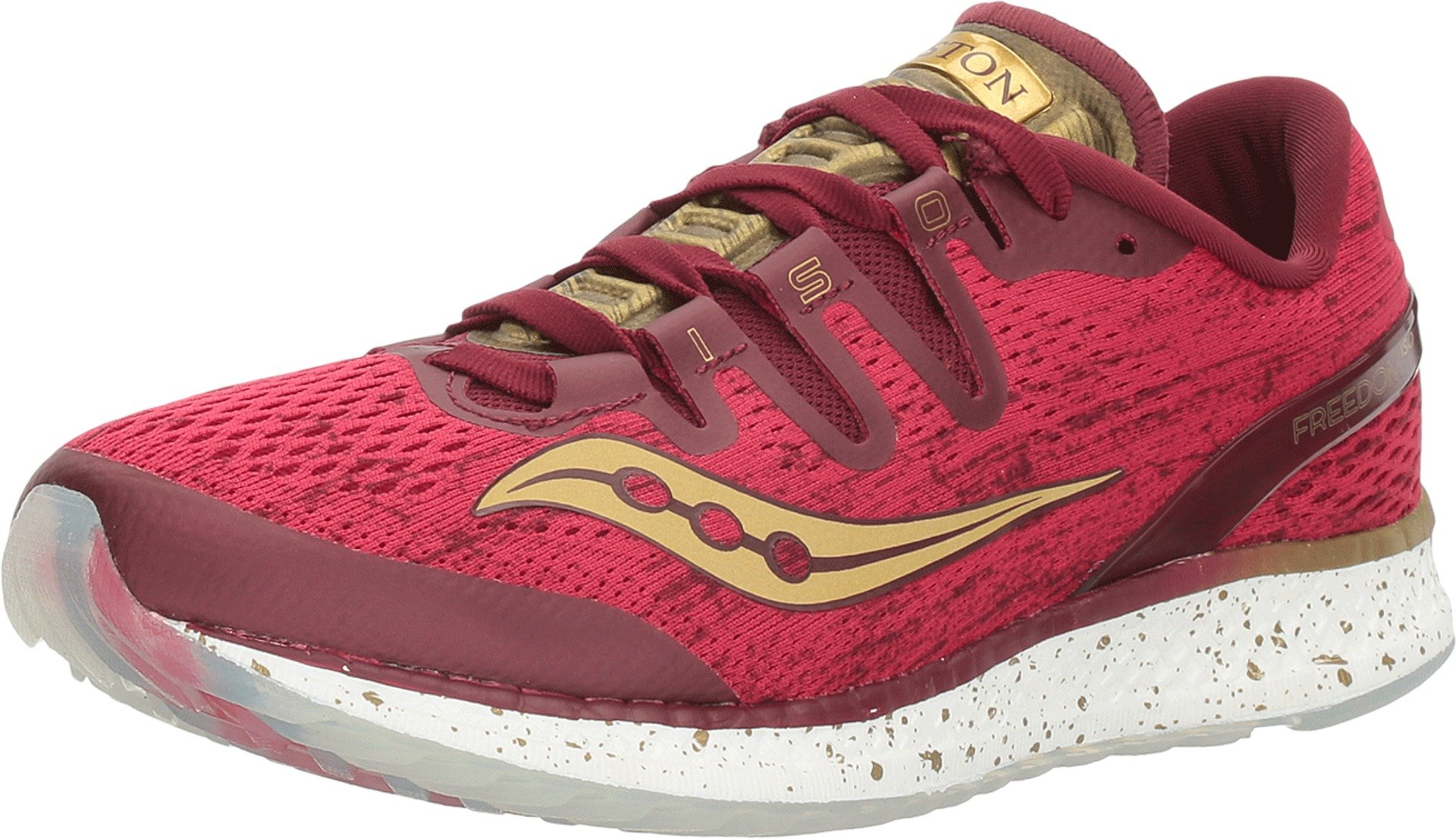 Women's Saucony Freedom ISO Running Shoes Red S10355-15 (7.5)