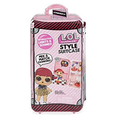 L.O.L. Surprise! Style Suitcase Electronic Playset - Cherry: Toys & Games