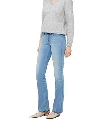 be268fd4 Lee Damen Jeans Hoxie - Bootcut - Blau - Shady Used: Amazon.de: Bekleidung