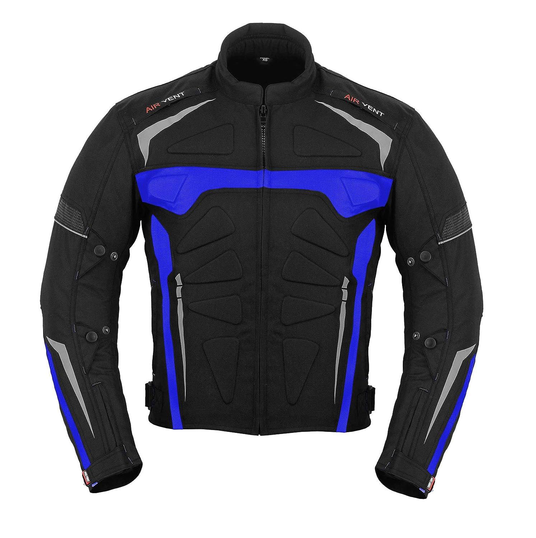 Free Bala Calava Motorradr/üstungsanzug Wasserdichte Motorradanz/üge Bike Rider Suit 2 St/ück Anzug Motorrad Racing Suit Allwettertr/ägeranzug Blau CE Armor f/ür Herren Jungen