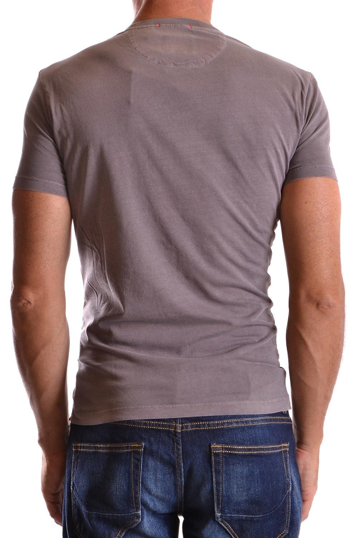 91971b199 WOOLRICH Men s Mcbi314023o Grey Cotton T-Shirt  Amazon.co.uk  Clothing