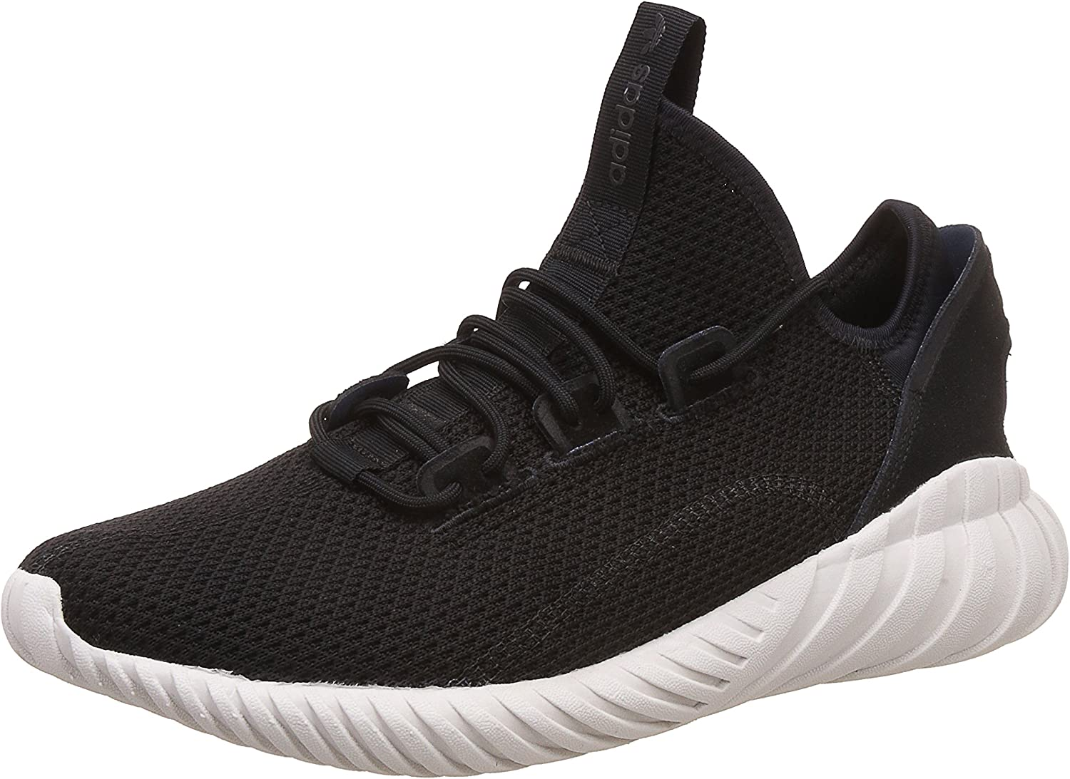 Adidas Originals Tubular Doom - Calcetín para hombre, color negro y blanco