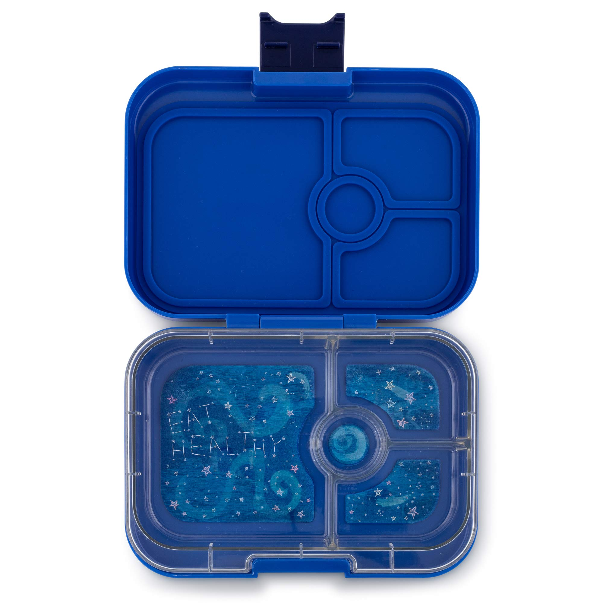 Yumbox Panino Leakproof Bento Lunch Box Container for Kids & Adults (Neptune Blue) by Yumbox