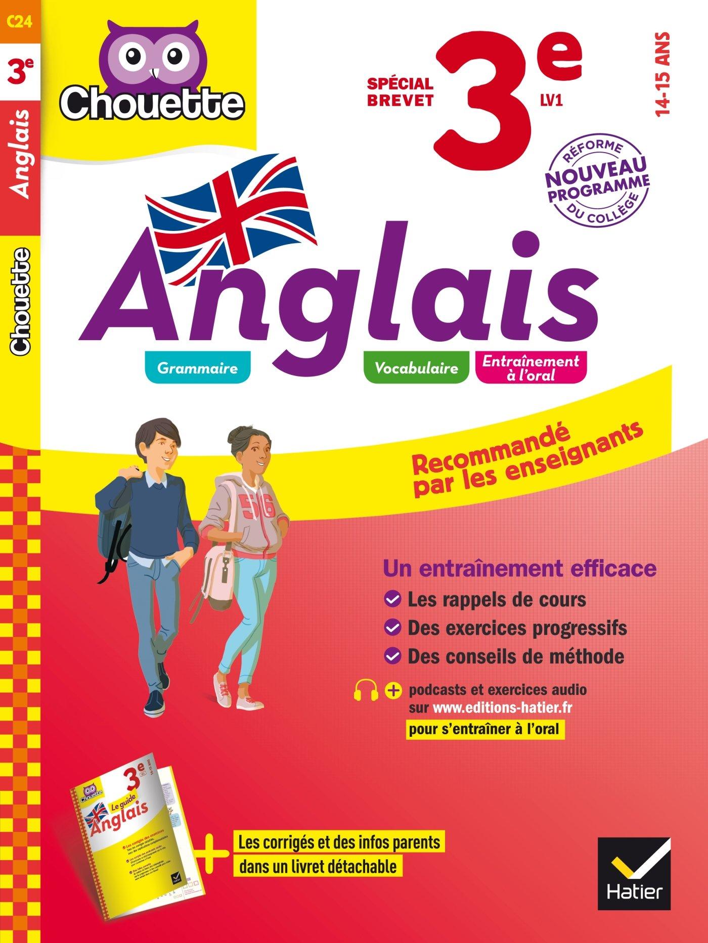Chouette Anglais: Anglais 3e (14-15 ans) PDF