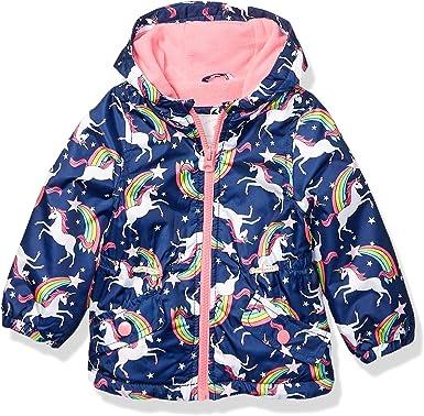 Carters Baby Girls Midweight Fleece Lined Anorak Jacket