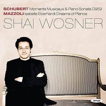 Schubert / Moments Musicaux d.780: Shai Wosner , Franz Schubert: Amazon.es: Música