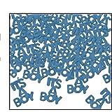 It's A Boy Fanci-Fetti (lt blue) Party Accessory  (1 count) (.5 Oz/Pkg)