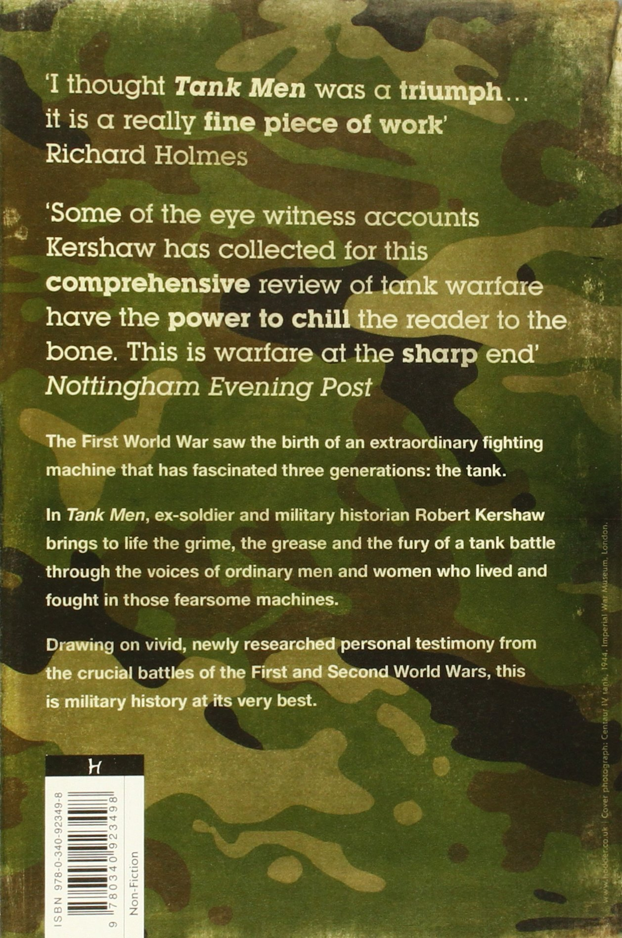 Tank Men: Amazon.de: Robert J. Kershaw: Fremdsprachige Bücher