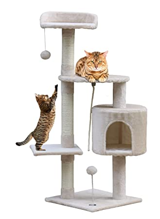 Buy Callas Cat Tree 4711 Biege For Kittens Only Online At Low Prices In India Amazon In