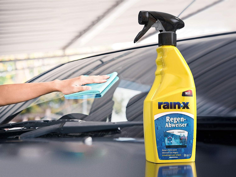 Rain X 26064 Original Regen Abweiser Original Rain Repellent Rain X 500 Ml Auto