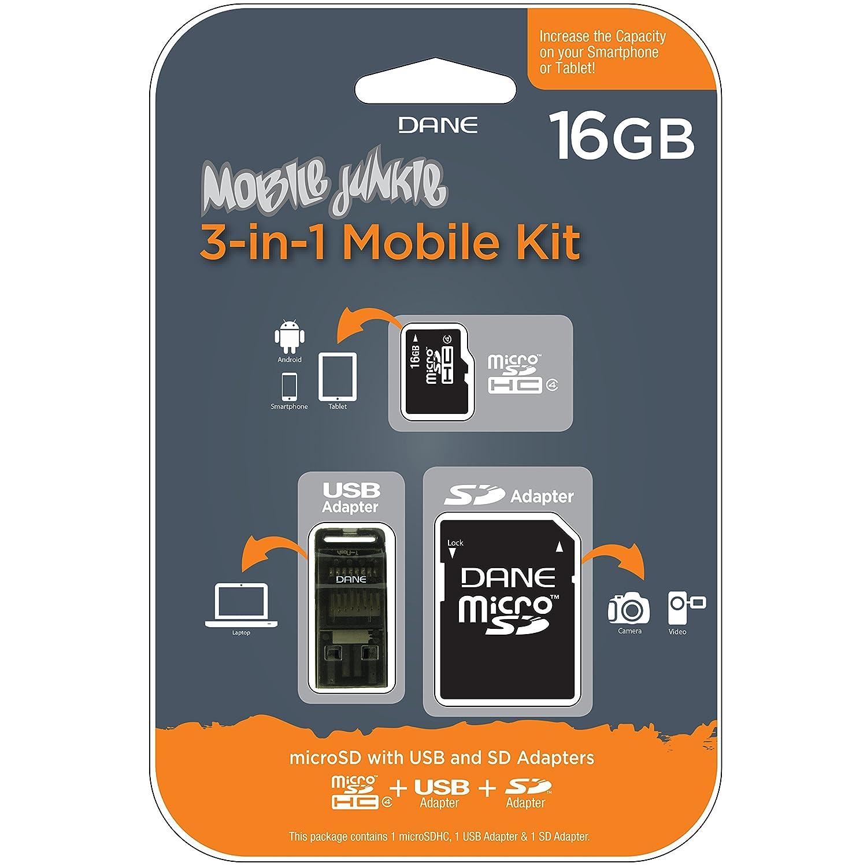 Mobile Junkie 16GB 3-in-1 Mobile Kit