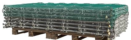 Kerbl 37263 Abdecknetz 30 Mm Maschenweite 1 8 Mm Materialstärke 2 5 X 4 M Gewerbe Industrie Wissenschaft