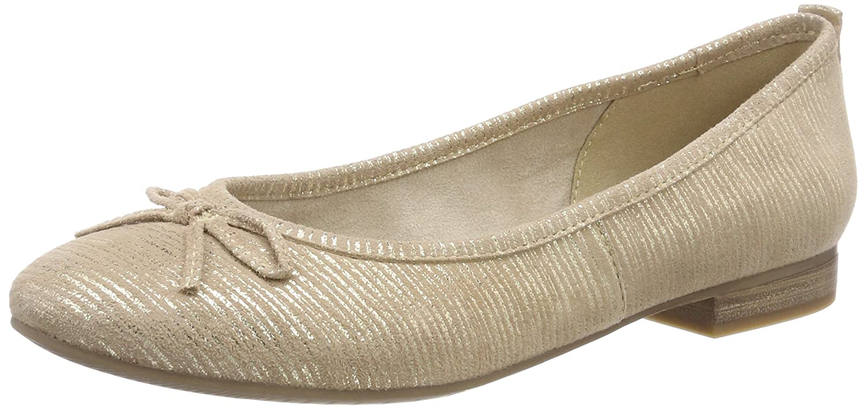22114, Zapatos de Tacón para Mujer, Beige (Powder), 41 EU Tamaris