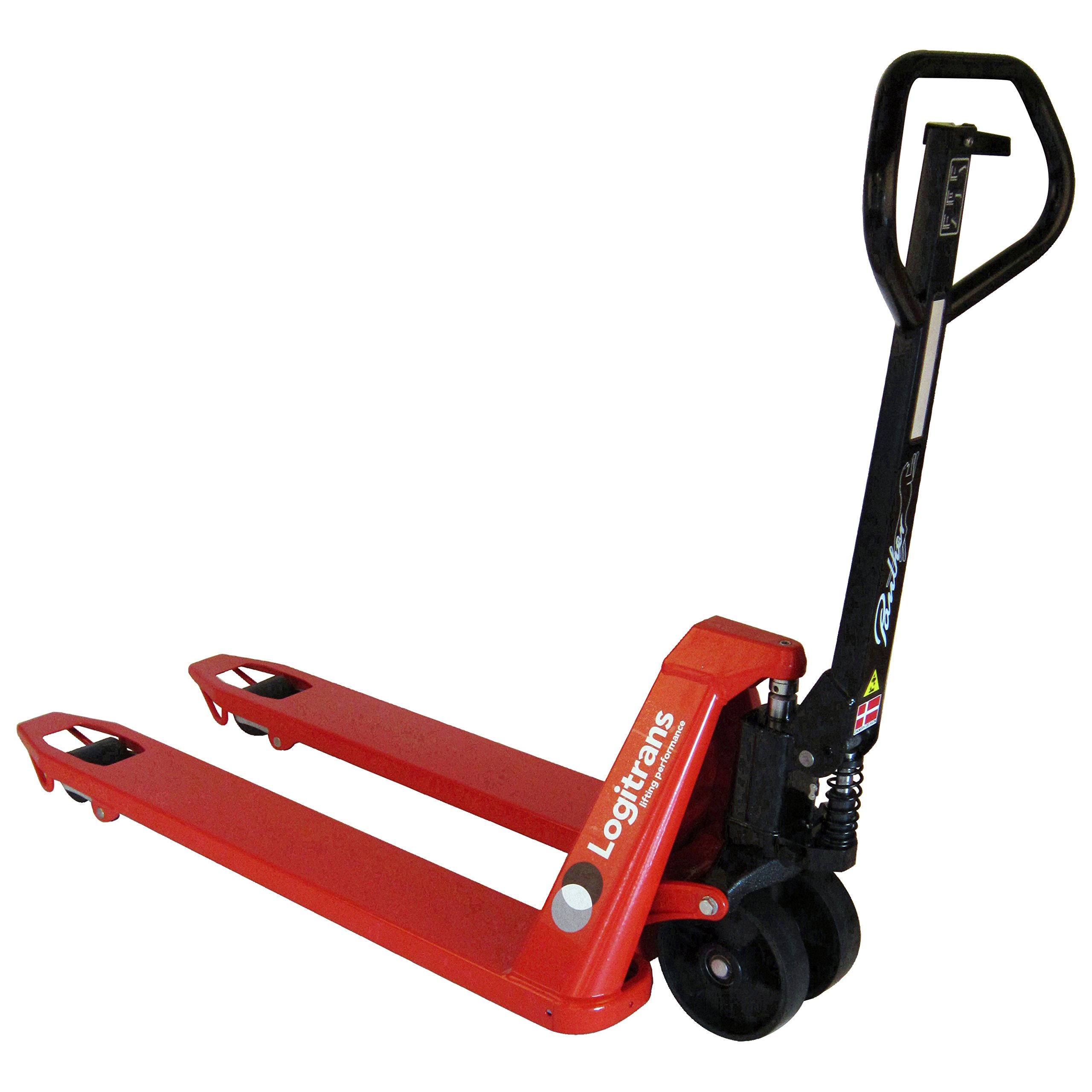 Interthor Panther Pallet Jack w/Short Forks - TT552032 - Interthor's 20'' x 32'' Manual pallet truck - Ergonomically correct handle and special wheels to ensure a minimum amount force