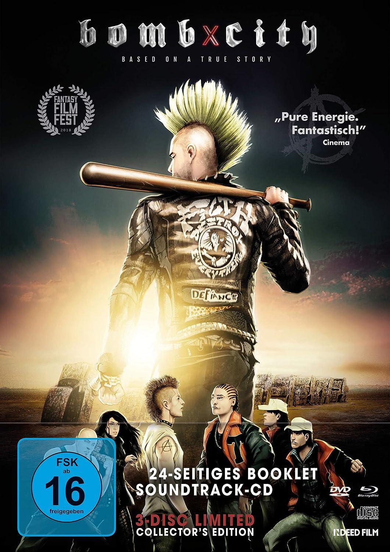 Bomb City LTD. Mediabook inkl. DVD &Soundtrack-CD Blu-ray ...