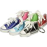 Rhode Island Novelty Lot of 12 Canvas Sneaker Tennis Shoe Chucks Keychain Party  Favors fceb9df033f2