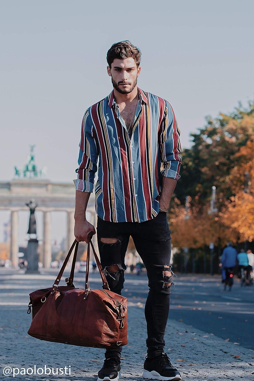 Mann mit Weekender Bag Fernbeziehung Geschenke für ihn