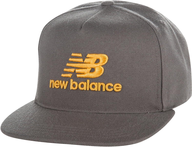 New Balance 5 Panel Pro Adjustable Snapback Baseball Cap Gunmetal Grey   Amazon.co.uk  Clothing 8c6b7209204